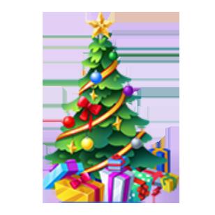 Festive Holiday Tree