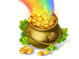 Deluxe Pot of Gold