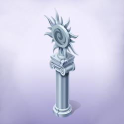 Flowermander Statue