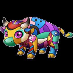 Cubism Cow
