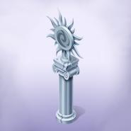 Vulpine Statue