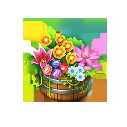 Flower Barrel