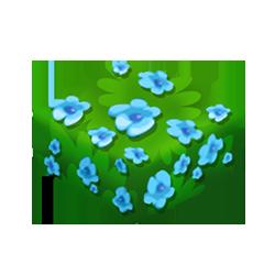 Aqua Azalea Bush