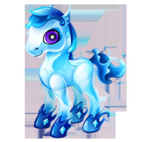 Aquamarine Pony