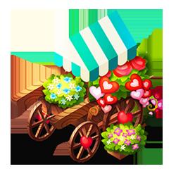 Deluxe Flower Cart