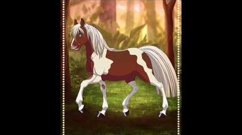 My horses (made with Fantasy Horse Maker)
