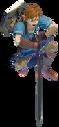 1.6.Champion Link's downwards strike