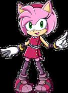 Amy boom sonic adventure style
