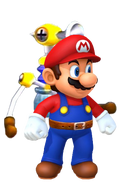 Mario and F.L.LU.D (Wii U)
