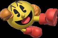 0.4.Pac-Man performing a flying kick