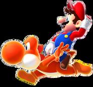 Dash Yoshi (No Afterimages)
