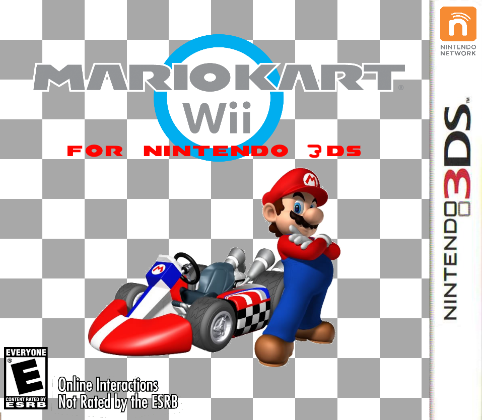 Mario Kart Wii For Nintendo 3DS