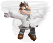 0.4.Dr. Mario using Dr. Tornado