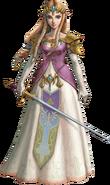 TPHD Princess Zelda Artwork
