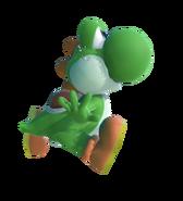 1.6.Green Yoshi Flutter Jumping