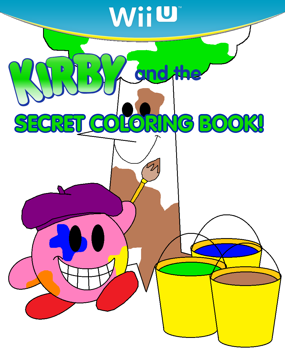 Kirby and The Secret Coloring Book