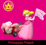 Peach in Mario Kart Ultime