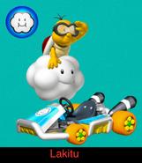 Lakitu in Mario Kart 9