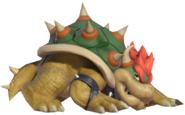 0.2.Bowser preparing to strike with his shell