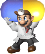0.3.Dr. Mario holding a Giant Vitamin