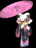 Callie In Kimono