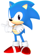 Classic sonic from the sonic mania poster by jaysonjean-dbdi7o9