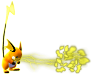 0.3.Raichu using Thundershock