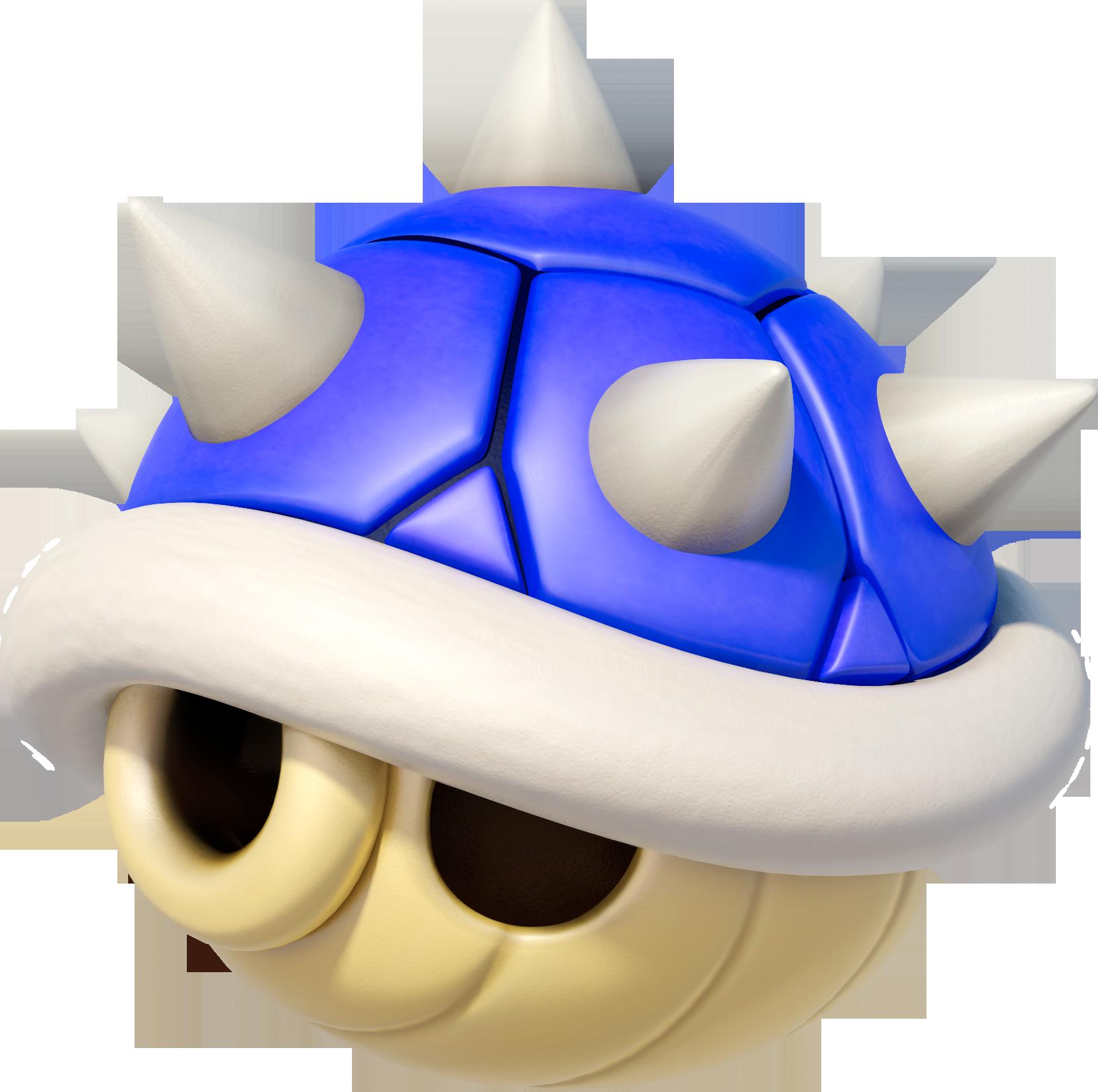 Blue Spiny Shell