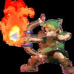 1.8.Young Link preparing a fire Arrow