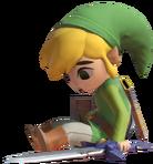 1.10.Toon Link sitting Down