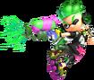 Green Inkling - Splatoon 2