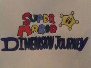 Super Mario- Dimension Journey logo