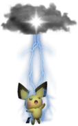 2.10.Pichu using Thunder