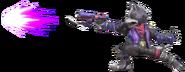 3.6.Wolf using his blaster