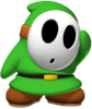 ACL MK8 Green Shy Guy