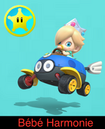 Baby Rosalina in Mario Kart 9