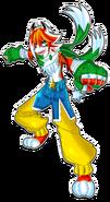 Tigzon the TigerStar character artwork (2018)