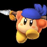 Bandana Waddle Dee-Kirby Fighters 2