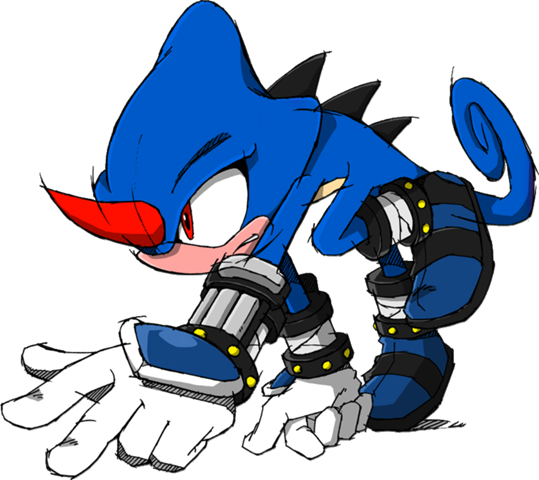 Charnelon the Blue Ninja (character)