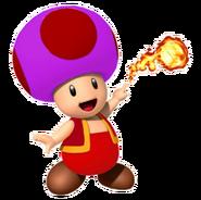 Fire Purple Toad
