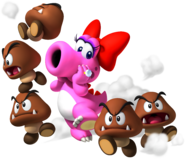 Birdo and Goombas - Mario Party 9