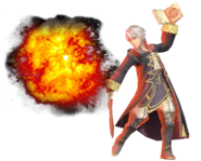 1.7.Male Robin Casting an Explosion