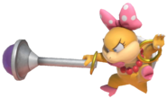 1.3.Wendy O. Koopa using her Wand
