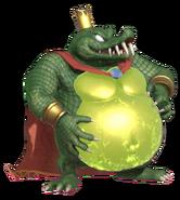 2.13.King K.Rool preparing his Belly Armor