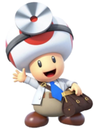Dr. Toad 1 - Dr. Mario World