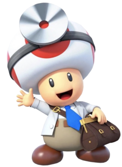 Dr. Toad 1 - Dr. Mario World.png