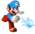 Ice Mario.