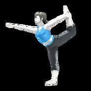 SSB4 Wii Fit Trainer Artwork (shadowless)