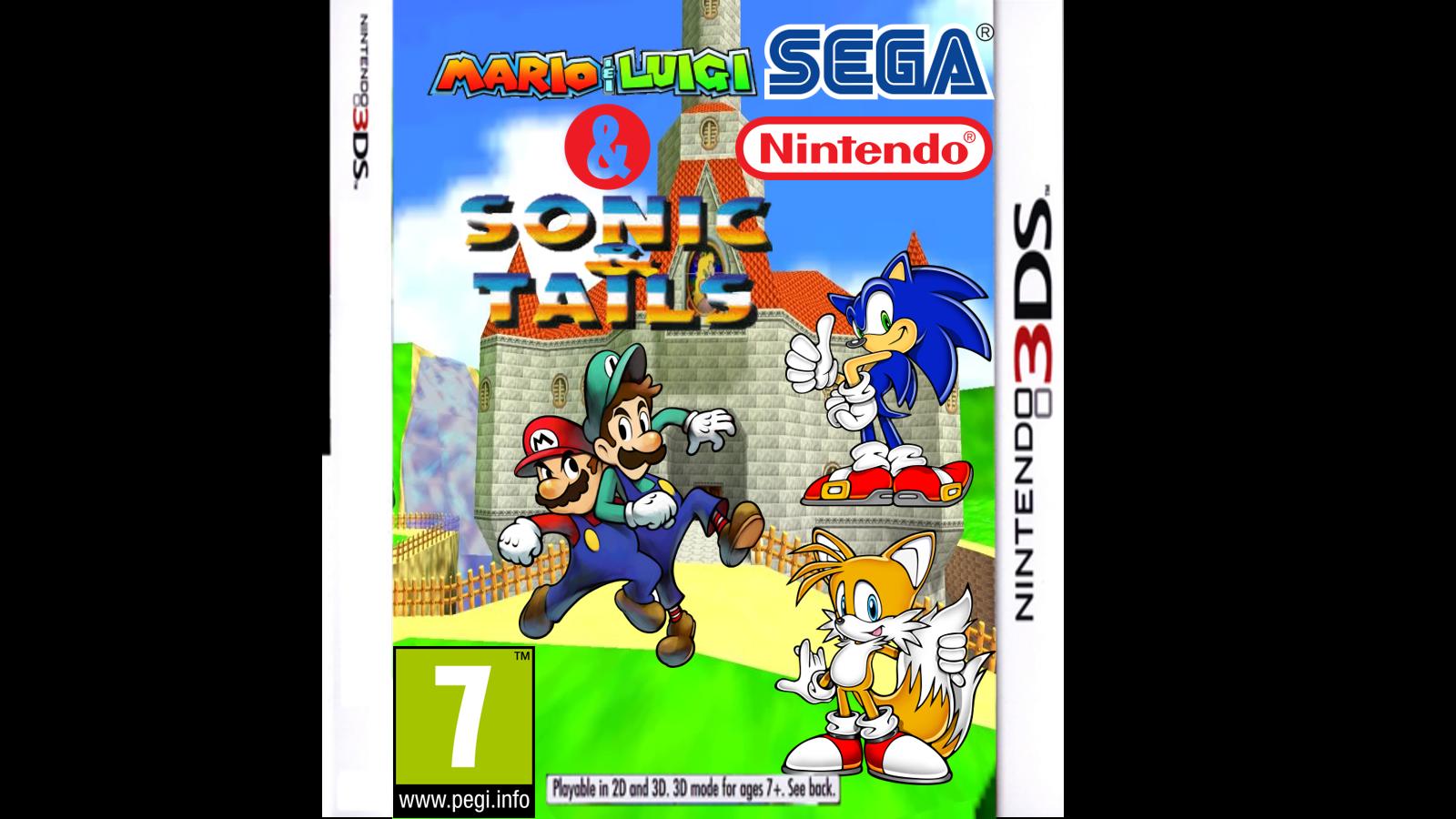 Mario & Luigi & Sonic & Tails