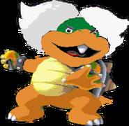 Ludwig von Koopa (SMB3AS sprite colors)- New Super Mario Bros. Wii